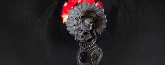 Ek Ocelotl y sus art toys de dioses mexicas