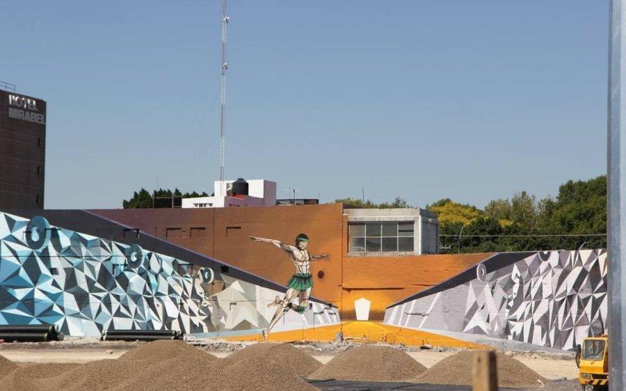 Mural de Elisa González y Mario Rivas