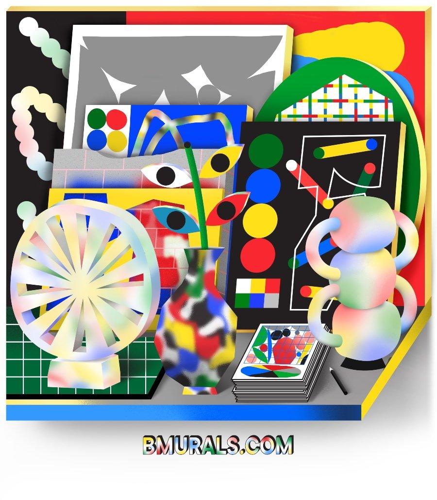 Cartel promocional de B-Murals
