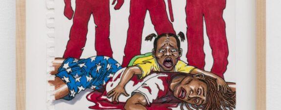 Cardi B y Jim Carrey crean obras en honor a mujeres asesinadas