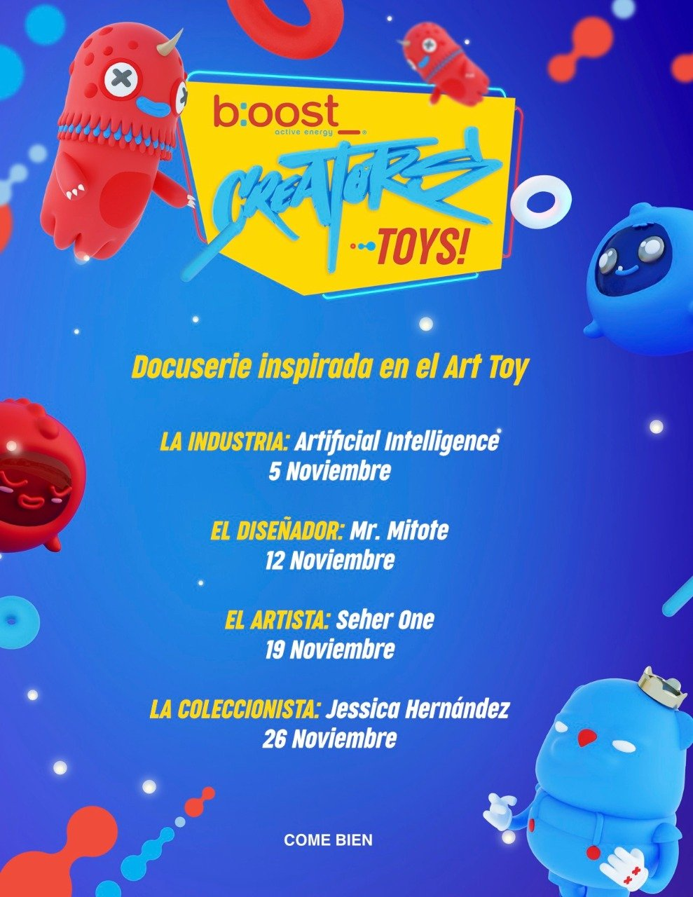 docuserie inspirada en los art toys