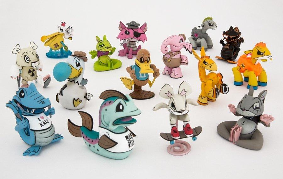 Colección de art toys
