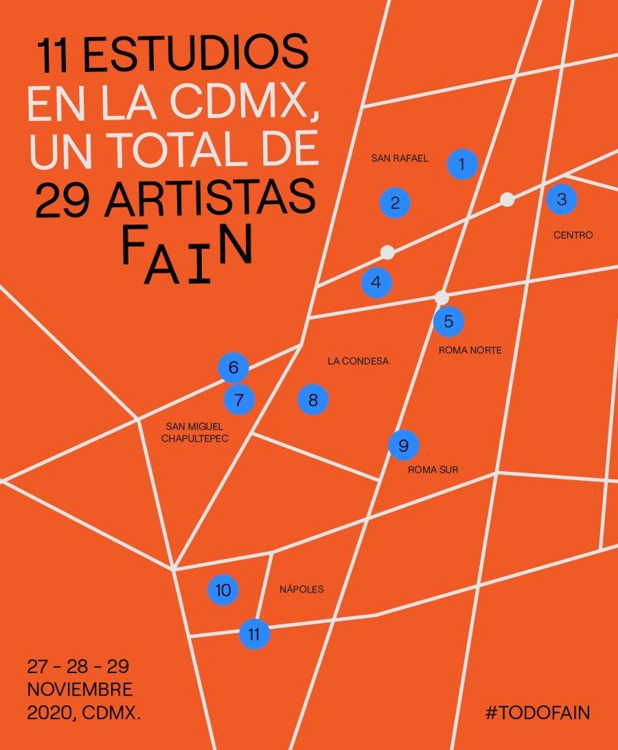 Galerías del circuito de la Feria de Arte Independiente 2020