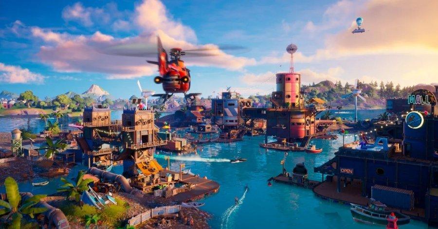 Fortnite con mejoras para PS5 y Xbox Series X