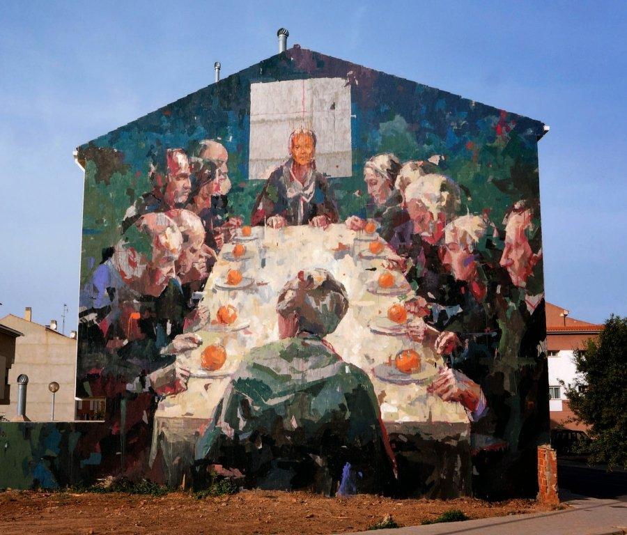 Mural de Gonzalo Borondo