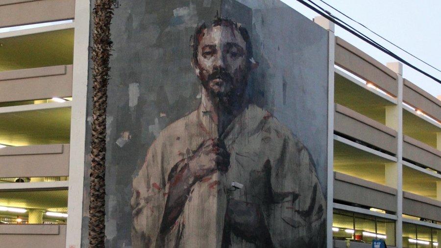 Mural por Gonzalo Borondo