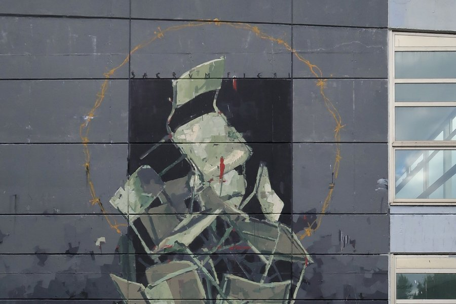 """Mural """"Sacrum Fieri"""""""
