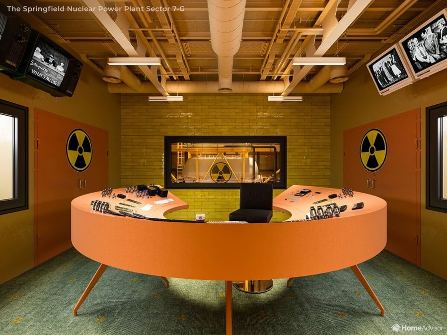 planta nuclear al estilo Wes Anderson
