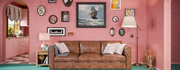 HomeAdvisor: Simpsons al estilo Wes Anderson