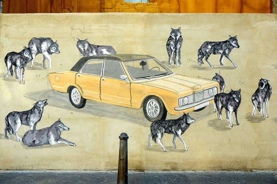 Mural por Hyuro