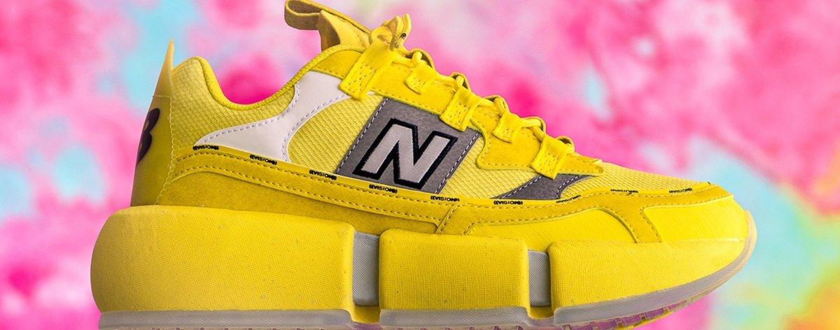 Jaden Smith y New Balance lanzan nuevos sneakers