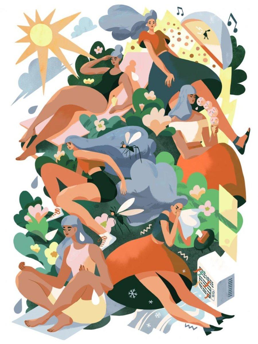 Ilustración de Kim Salt