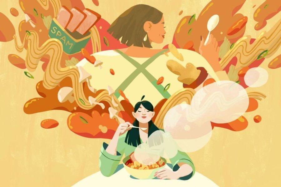 Las ilustraciones de la artista revelan la esencia del ser humano