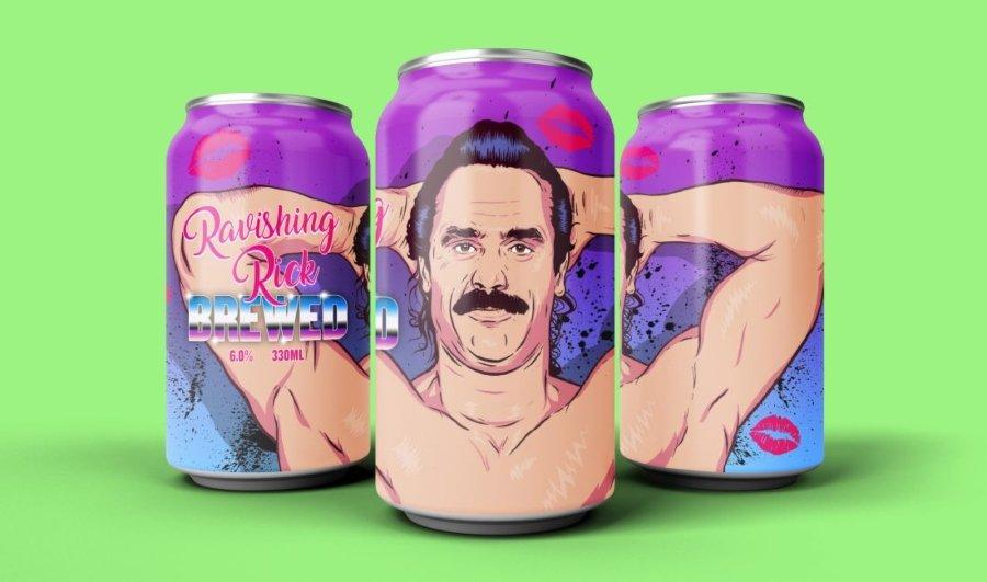 La cerveza que rinde homenaje a la lucha libre