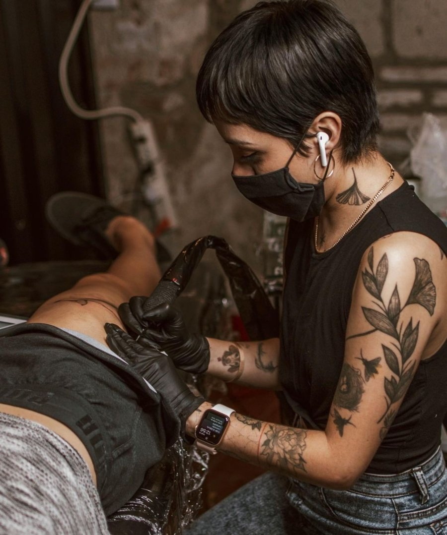 Bocetos para tatuajes por Lucía Serrano