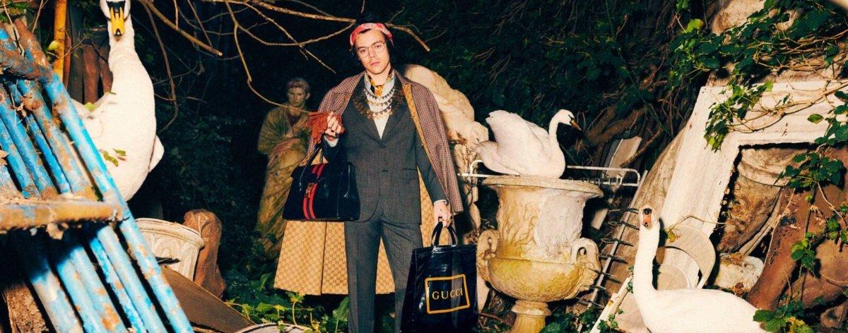 Miniserie de Gucci para su nueva colección
