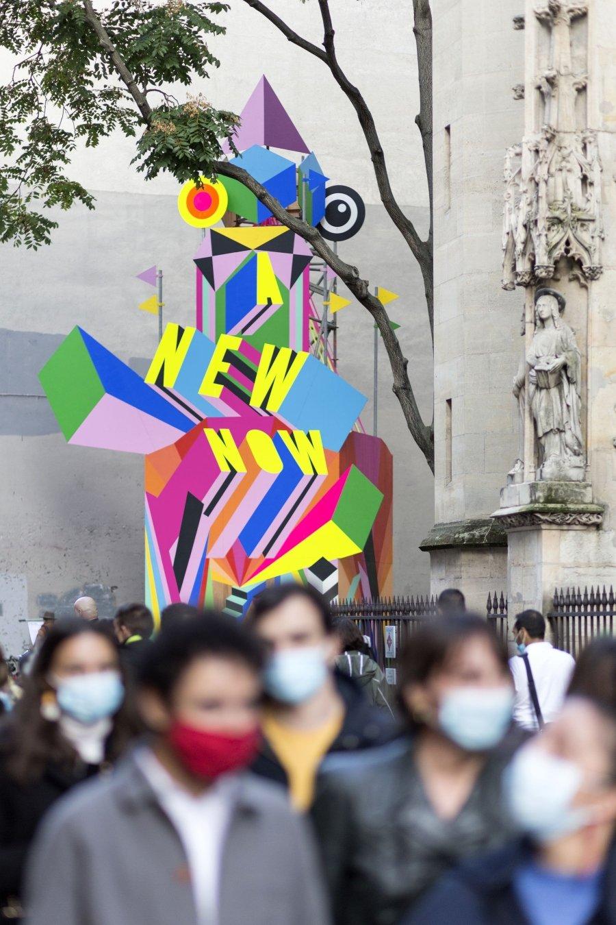 A New Now, lo nueov de Morag Myerscough en París