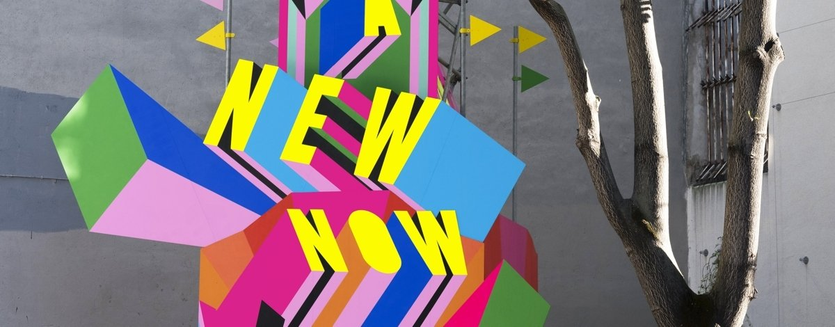 Morag Myerscough y su escultura positiva en París