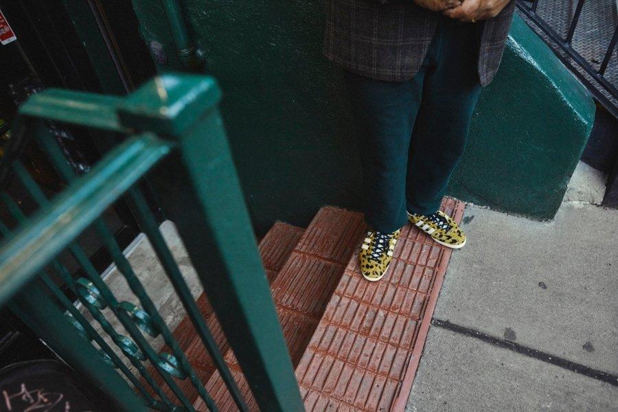 Aspecto de los nuevos Gazelle de Noah y Adidas Originals