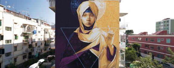 Nuevo mural de INTI en Italia