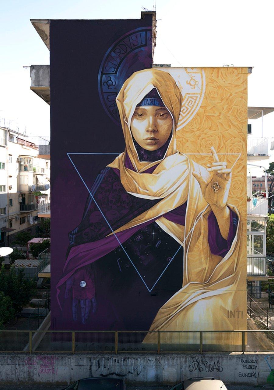 """El nuevo mural de Inti """"POLVERA DI STELLE"""""""
