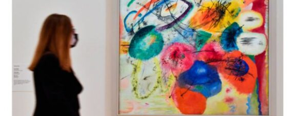 Obras de Kandinsky llegan al Guggenheim Bilbao