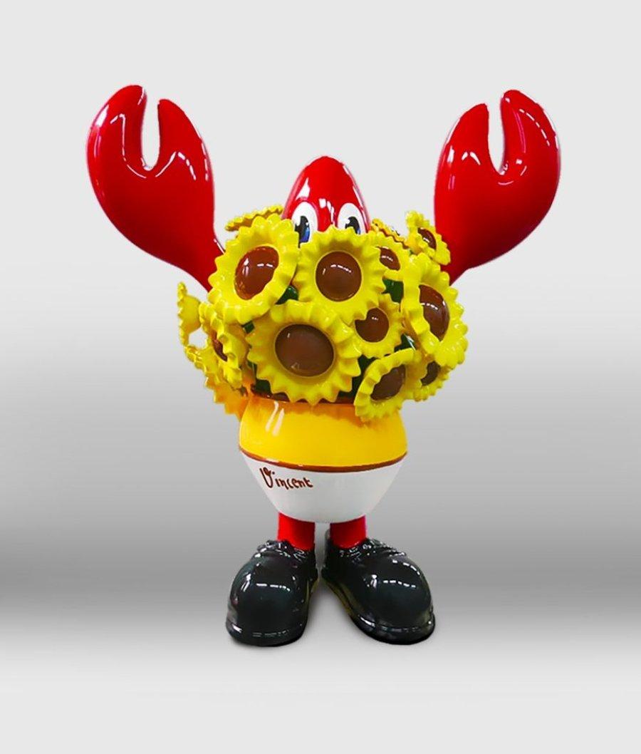 """Obra de la exposición """"Lobsteropolis"""""""