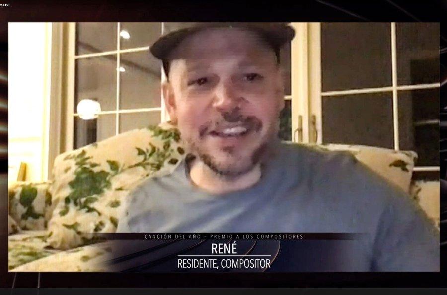 Residente gana a mejor canción del Latin Grammy 2020 por René