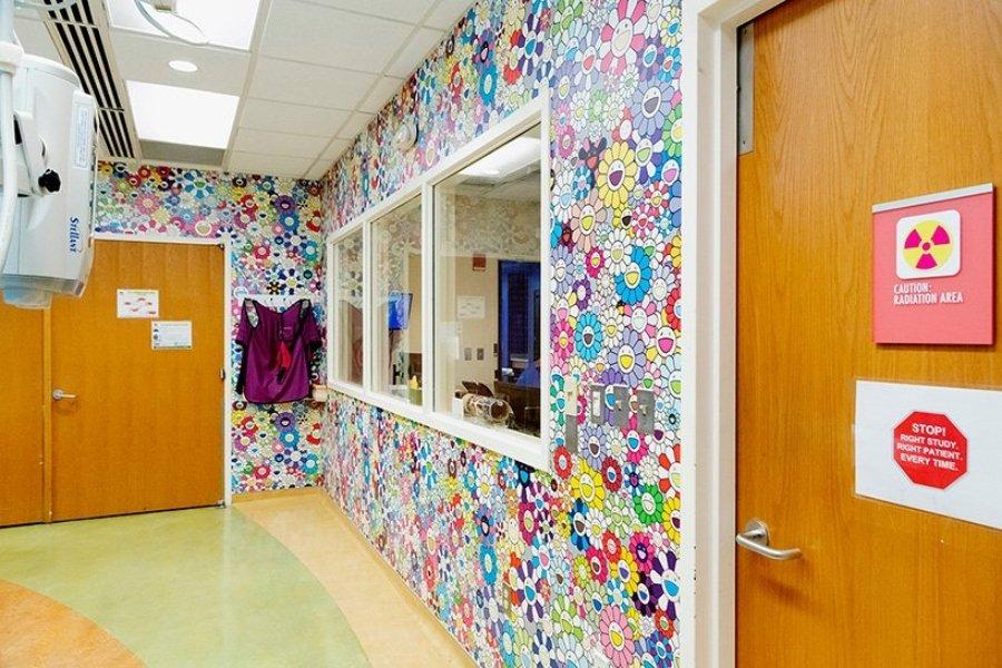 Intervención del artista japonés en hospital