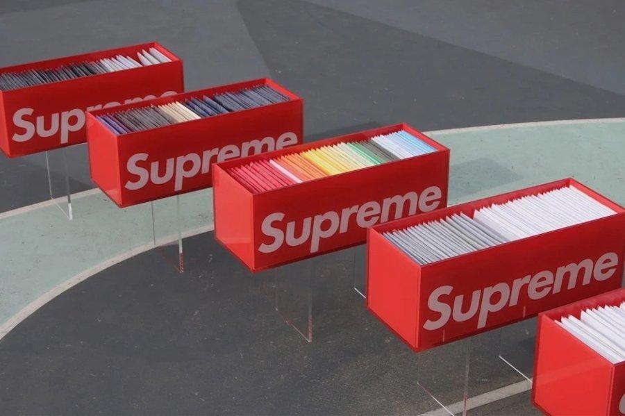 The Box Logo Collection, la colección más grande de tees Supreme
