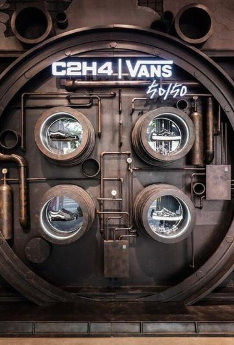 Vans y C2H4 estrenan sneakers cyberpunk