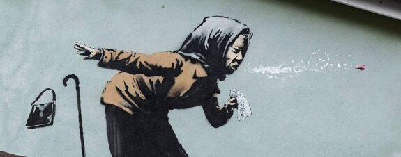 Aachoo, un estornudo es lo nuevo de Banksy en Bristol