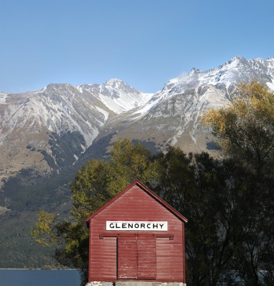 Accidentally Wes Anderson: Glenorchy Wharf Shed, New Zealand