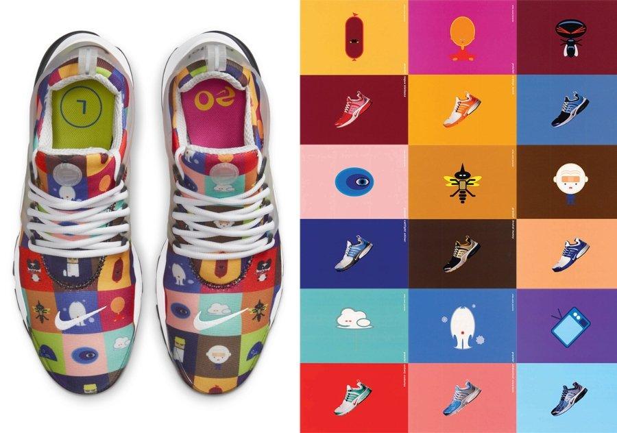Aspecto de los nuevos Nike Air Presto Origins