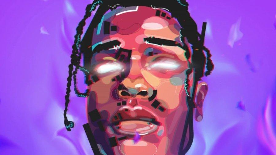 Retrato de A$ap Rocky
