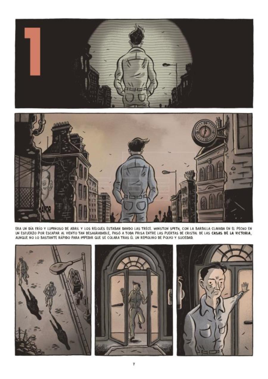 "El cómic de ""1984"" de Fido Nesti"