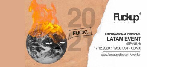 Fuckup Nights México International Editions llega con más sorpresas
