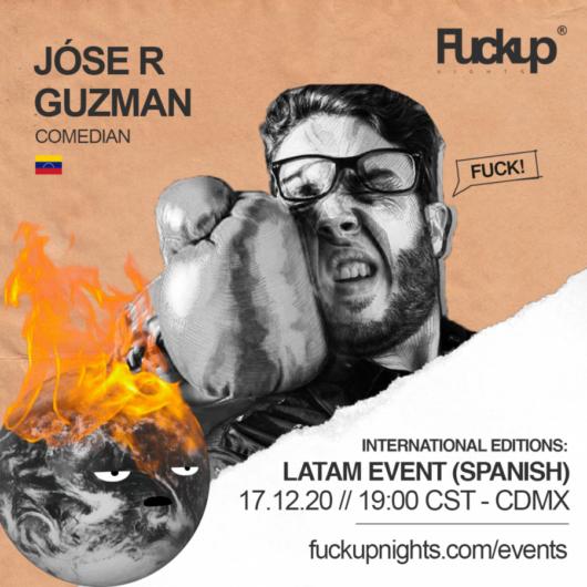 José Guzmán en las FUN