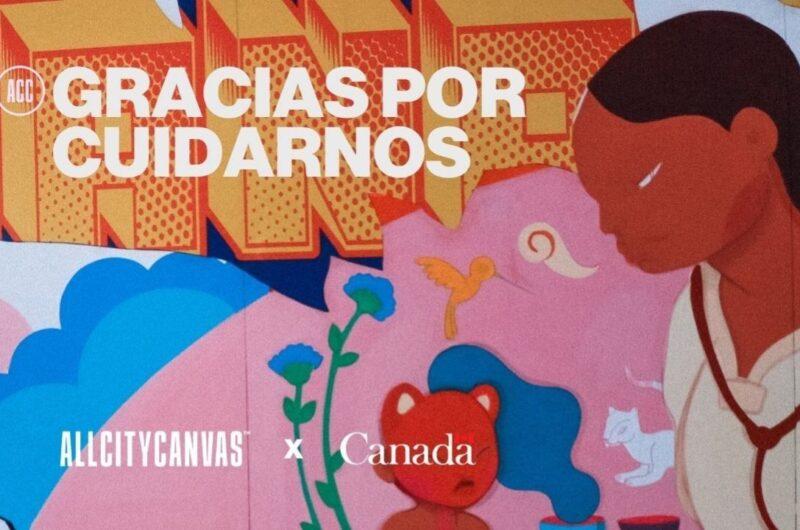 Mural «Gracias por cuidarnos»