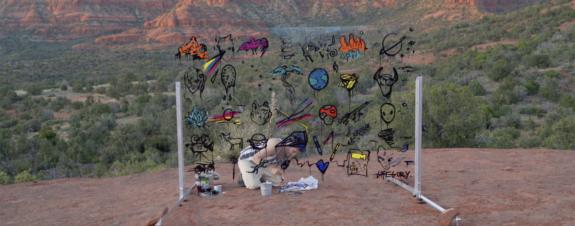 Gregory Siff inaugura Mural Art Project en Sedona, Arizona