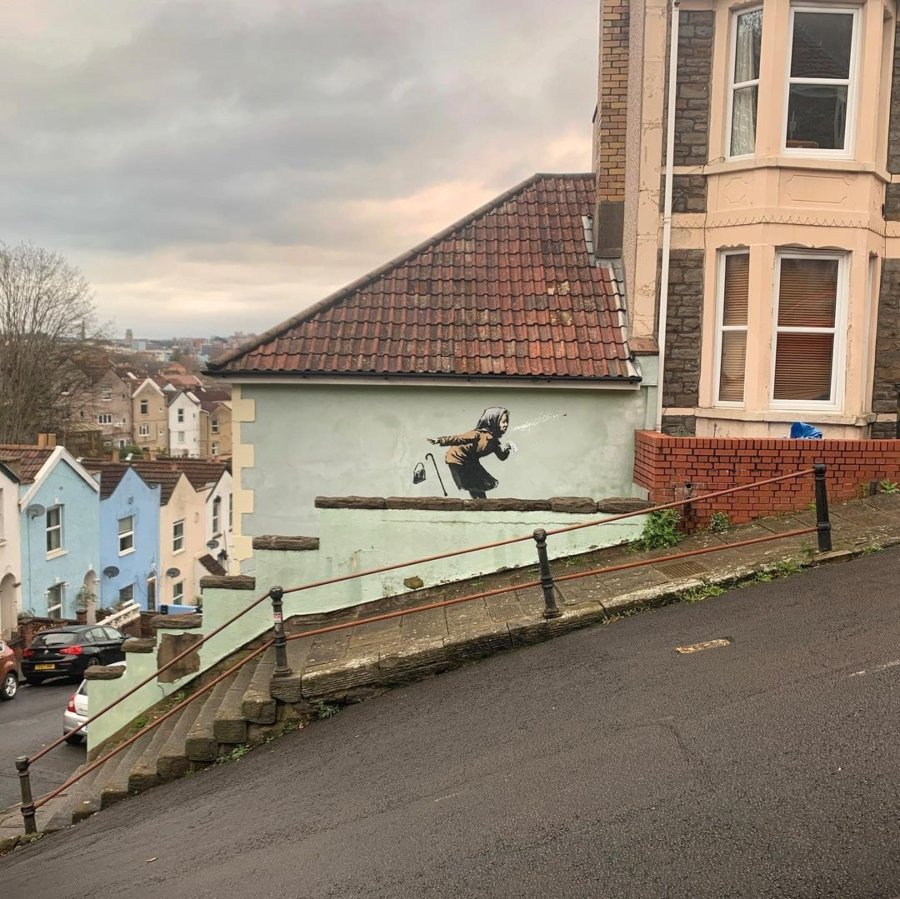 La casa de Aachoo de Banksy en venta