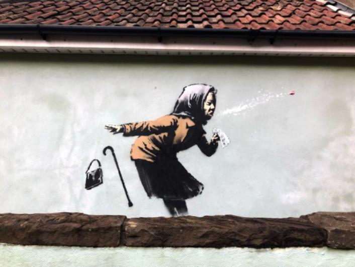 """Lo mejor de Banksy 2020 """"Achooo"""""""