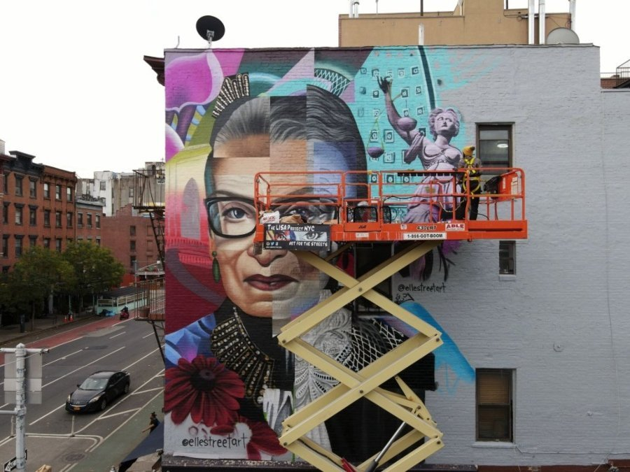 Mural de Elle Street Art