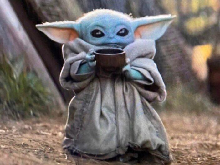 Baby Yoda de the Madalorian