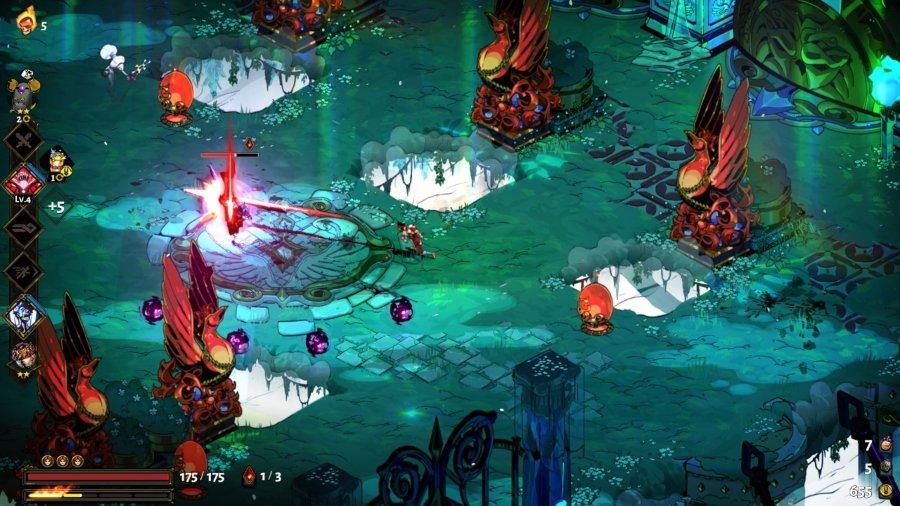 Aspecto del videojuego Hades