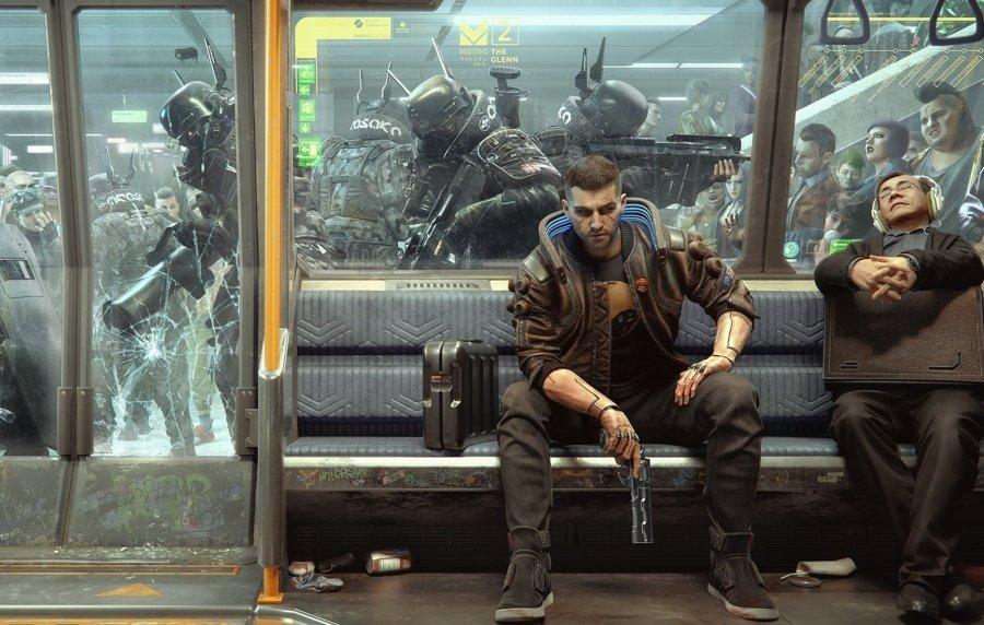 Aspecto del videojuego Cyberpunk 2077