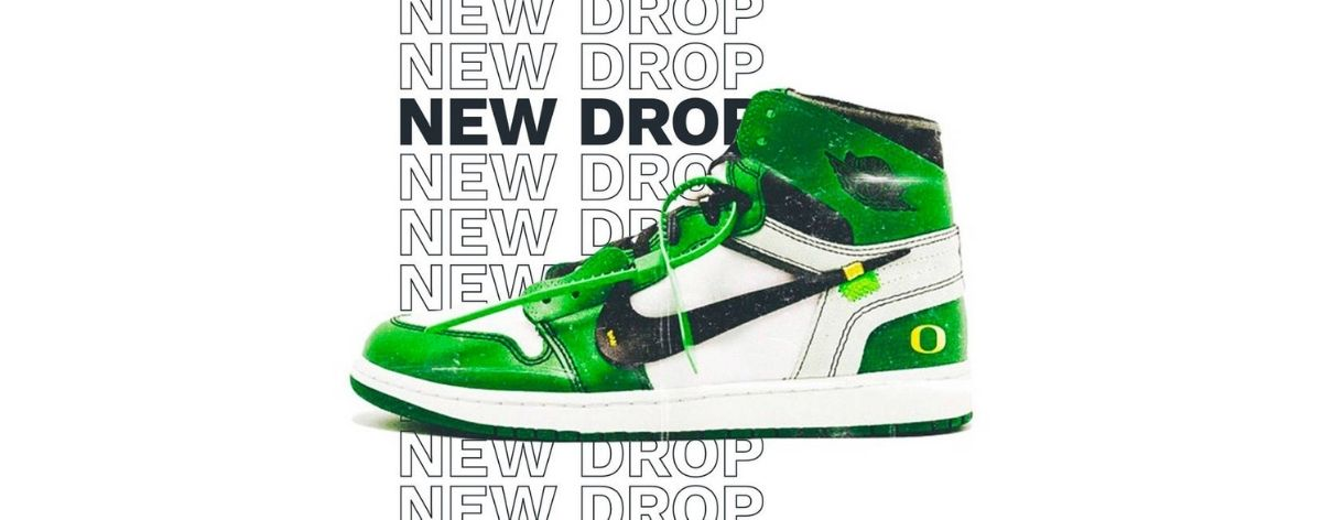 Off White x Air Jordan 1 «Oregon Ducks» a nada de llegar