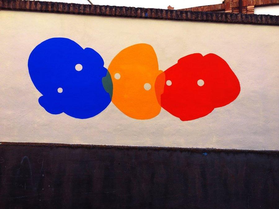 """Mural """"Fusión"""" por OTTSUFF"""