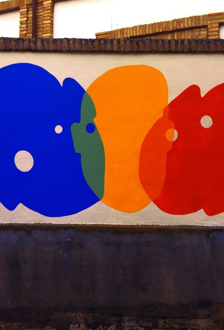OTTSTUFF presenta su mural  «Fusión» en España