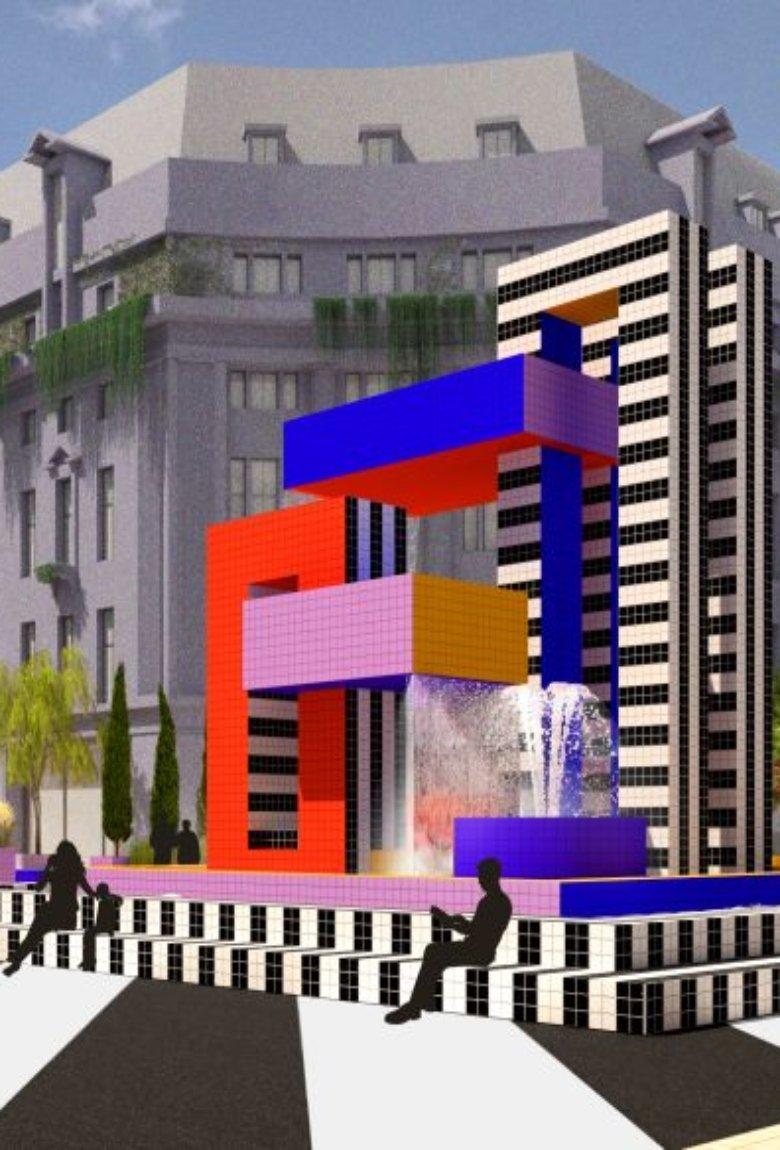 Oxford Street, el nuevo proyecto de Camille Walala